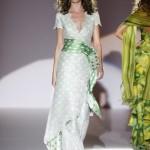 Vestido de Noiva verde