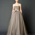 Vestido de Noiva escuro