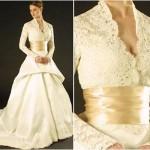 Vestido de Noiva castanho