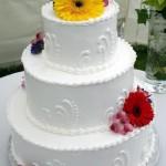 Bolo de Casamento da Noiva simples