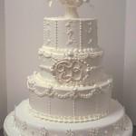 Bolo de Casamento da Noiva redondo