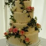 Bolo de Casamento da Noiva com planta
