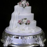 Bolo de Casamento da Noiva lindo
