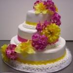 Bolo de Casamento da Noiva alegre