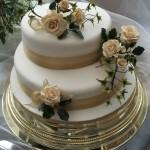 Bolo de Casamento da Noiva requintado