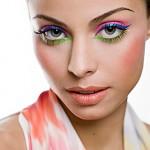 dica maquiagem colorida