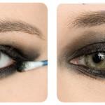 Olhos esfumados Como Fazer