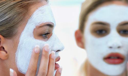 Máscara facial anti-envelhecimento