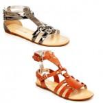 sandálias para trabalho