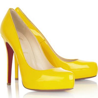 Sapatos Amarelos