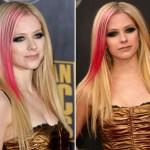 madeixas rosa no cabelo loiro