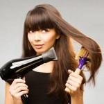 Secar o cabelo corretamente