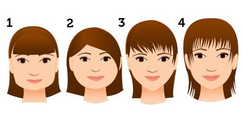 Saiba qual o tipo de franja adequada para o seu rosto