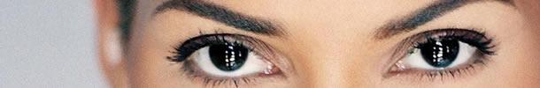 Foto de olhos pretos