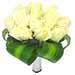 Bouquet noivas rosas brancas