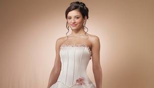 Vestido de noiva moderna