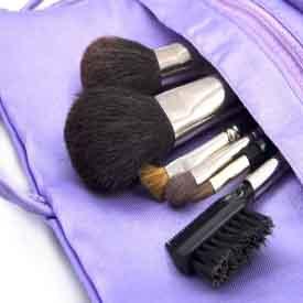 Limpar pincéis de maquiagem