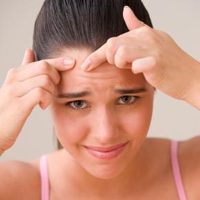 Redução de acne