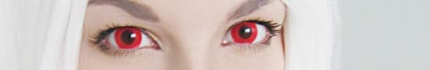 Foto de olhos vermelhos